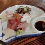 富田屋 - ●刺身定食¥1080税込