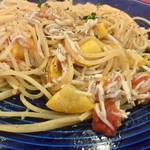 キッチン・キャミー - 釜揚げシラスとズッキーニとフレッシュトマトのパスタ