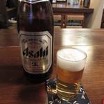 江戸庄 - 瓶ビール 540円 (2019.4)