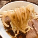らあめん花月嵐 - 麺リフトアップ