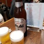 107694065 - 焼売マイにはビールや(ꐦ°᷄д°᷅)!!