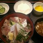 えぼし - あじ刺し丼&定食セット