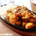 家族亭 - 料理写真:オジンゴポックントッパブ