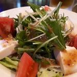 焼鳥 月 - 料理写真:豆腐サラダ ハーフ 380円