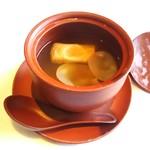 Toutenkou - 干し貝柱と湯葉の薬膳蒸しスープ