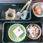 嵯峨とうふ 稲 - 胡麻豆腐 おから 生麩 わらび餅