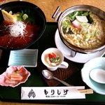 もりしげ - 料理写真:もりしげ @佐野・田沼 料理長の真心ランチ まぐろの漬け丼 840円