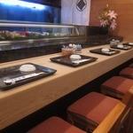 秀寿司 - カウンター席