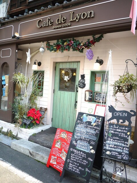 カフェ ド リオン - 入口★