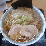 中華そば 雲ノ糸 - 料理写真:中華そば太麺背脂ありこってり