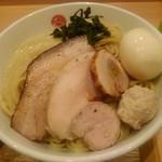 107703539 - 特製トッピング 大盛麺