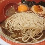徳島ラーメン 麺王 - 替玉投入
