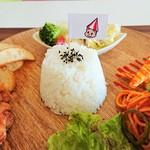 お子様ランチ専門店 キノブタ - 料理写真:ターンマーク坊やの旗