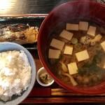 糀屋カフェ - 味噌汁定食¥993(税込)