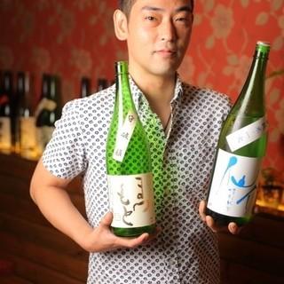 ⭕️日本酒大好きな大阪グルメシェフの店主