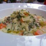 ナチュラルクイーン - ふわふわ豆腐ハンバーグ~冬の菜園クリームチーズソース~