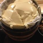 勘四郎 - ざる豆腐の味、良かったです。
