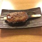 勘四郎 - 美味しかった五平餅。女性には辿り着けない。