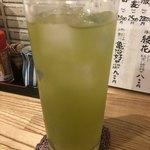 107710399 - 香ばし緑茶割。