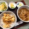 寿美吉 - 料理写真:穴子天丼セット(850円)