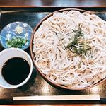 喜福 - 料理写真:『ざるそば』様(600円)