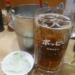 喜多八 - 黒ホッピーセット 380円