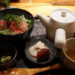 bodai - とろまぐろと水菜の出汁茶漬け