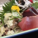 藤吉郎 - ミックスの刺身定食