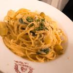 ピッツェリア ラポルタ - ウニのクリームソース