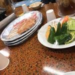 梁山泊 - 夕食