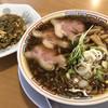 サバ6製麺所 - 料理写真:サバ醤油そば+半やきめし♪ 950円