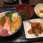 107729630 - 海鮮丼定食上 1,000円