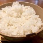 ジンギスカン 神保町 マカン - インディカ米のチキンライス