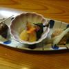 徳乃 - 料理写真:付きだし3種