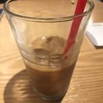 107730880 - アイスコーヒー                       ほとんど飲んでしまった
