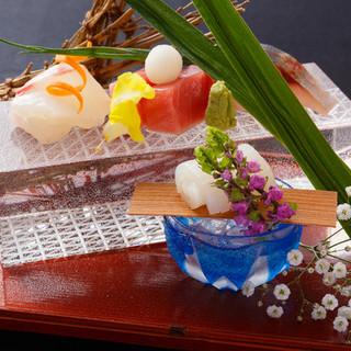 京の美しさを感じる日本料理