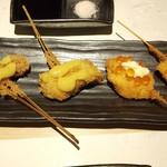 お出汁で食べる串かつと釜めしの専門店 ぎん庵 -