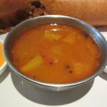 107734832 - 野菜と豆のカレー(サンバル)