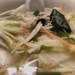 三陽 - タンメンの麺無し