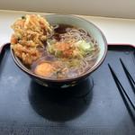 谷田部東パーキングエリア(上り線)スナックコーナー - 料理写真:かき揚げ天玉そば
