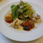 フェリチタ - 前菜盛り合わせ と サラダ