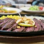 CALIFORNIA DINING THUNDER STEAK&HAMBURGER - かなり満足度が高いです('-'*)♪