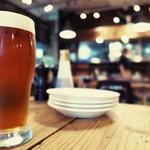 CALIFORNIA DINING THUNDER STEAK&HAMBURGER - とても美味しいクラフトビールでした♪
