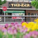 CALIFORNIA DINING THUNDER STEAK&HAMBURGER - お花畑に見えますが、花壇です♪