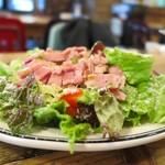 CALIFORNIA DINING THUNDER STEAK&HAMBURGER - お味もボリューム抜群!