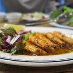 CALIFORNIA DINING THUNDER STEAK&HAMBURGER - ガーリックシュリンプもむっちゃ美味しかったです♪