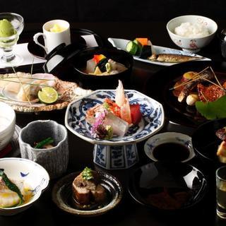 季節らしさを表した北陸・金沢の幸で作る、本格的な和食料理