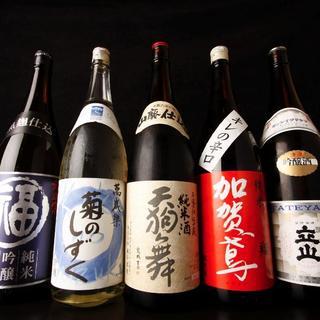 """富山、石川、福井…""""北陸三県""""が誇る地酒を愉しんで"""
