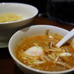 ちー坊のタンタン麺  - タンタンつけ麺(麺量120g)750円。