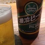 菜ころ - 横浜ビールの「ピルスナー」
